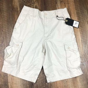 Beverly Hills Polo Club Tan Cargo Shorts Sz 30